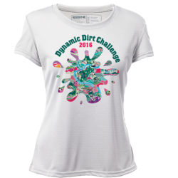Dynamic Dirt Challenge - Womens Short Sleeve REC T